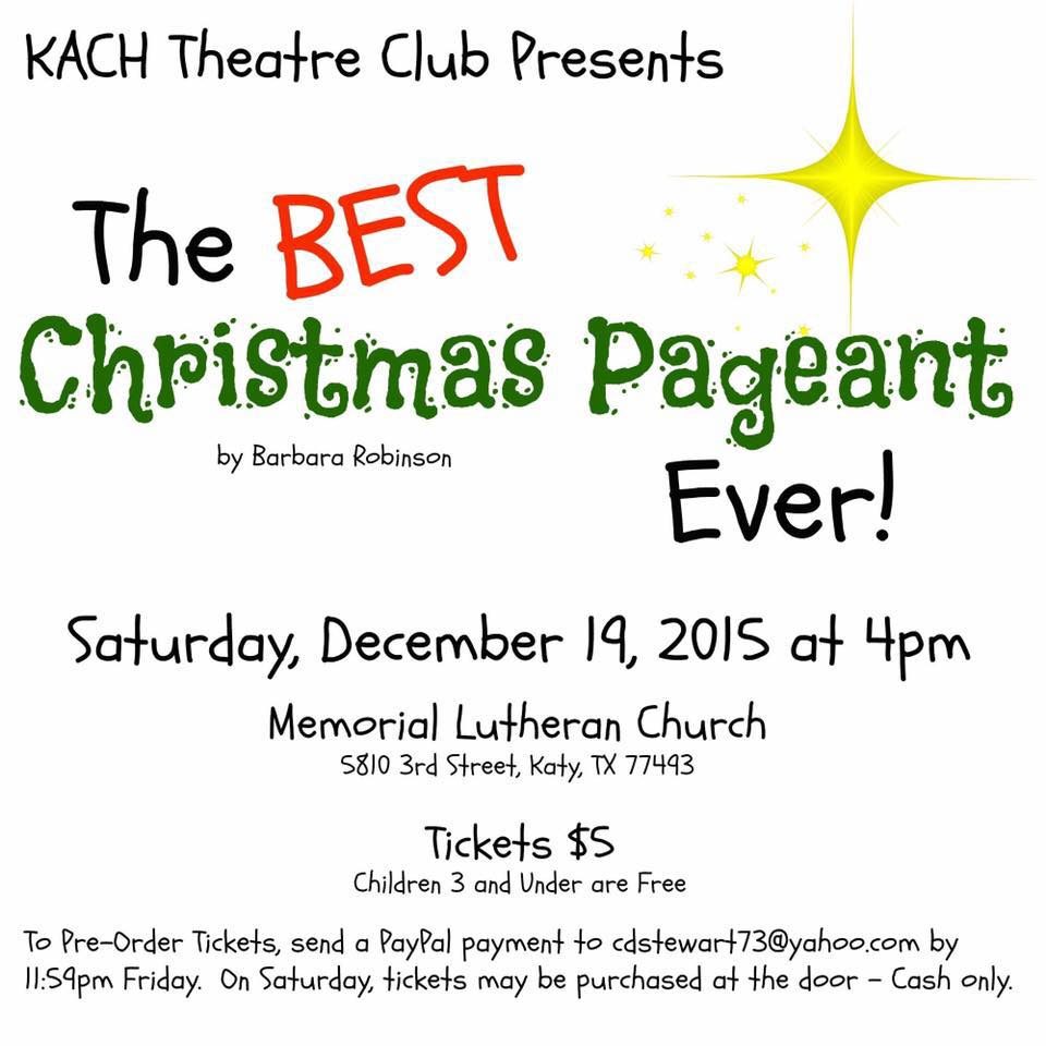 KACH Christmas Pagent